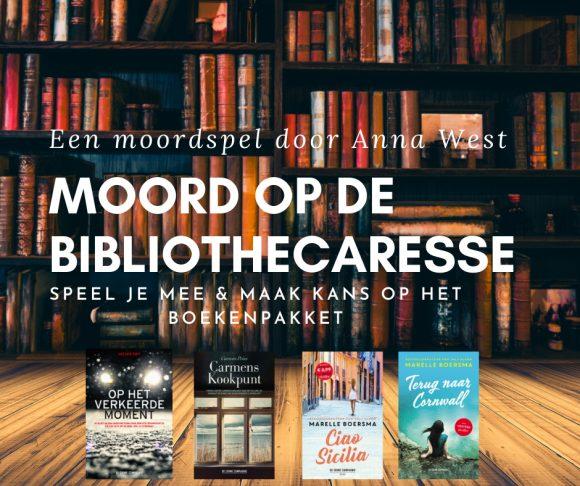 Moord Op De Bibliothecaresse, Een Moordspel Van Anna West, Dag 6