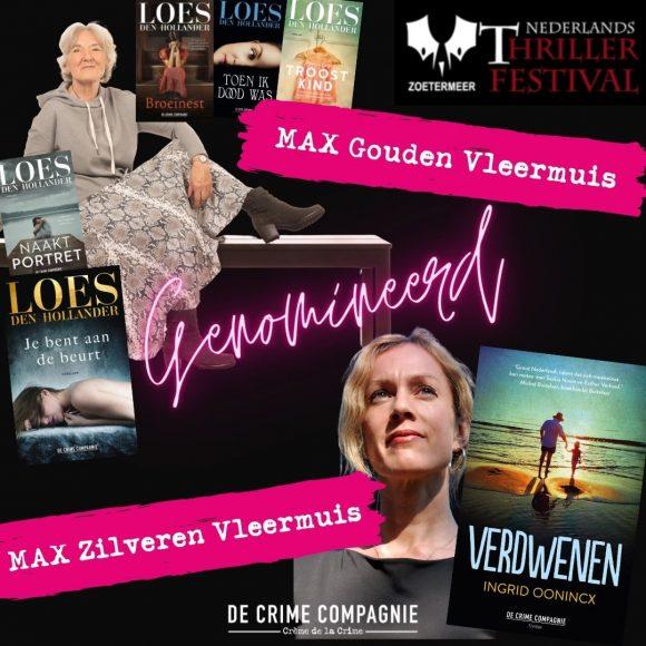 Shortlist Nederlands Thrillerfestival